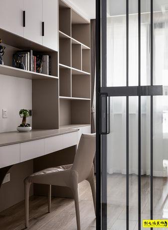 富裕型130平米现代简约风格书房效果图