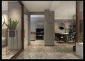 110平米三室两厅中式风格走廊装修图片大全