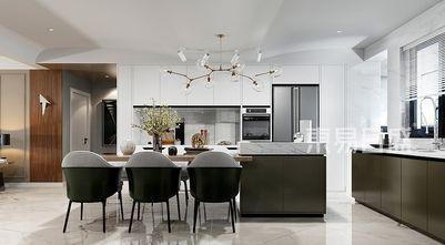 20万以上140平米三室两厅现代简约风格餐厅装修效果图