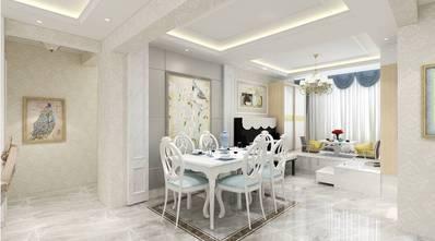 豪华型140平米四室两厅欧式风格餐厅图片