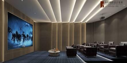 20万以上140平米别墅中式风格影音室设计图