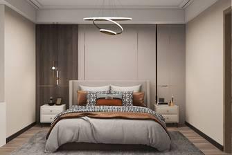 经济型140平米三室一厅轻奢风格卧室欣赏图