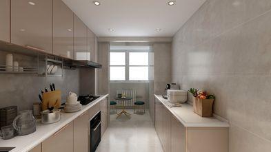 豪华型110平米三室两厅现代简约风格厨房图片
