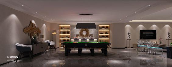 140平米别墅现代简约风格健身房欣赏图