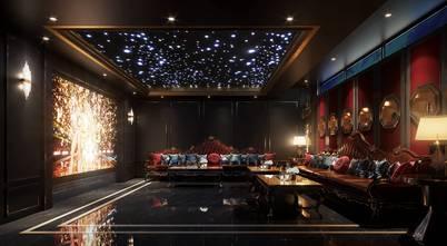 豪华型140平米别墅法式风格影音室图片大全