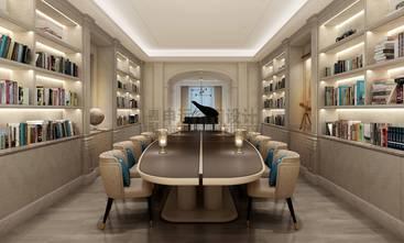 20万以上140平米别墅港式风格书房图