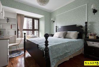 经济型80平米三室两厅美式风格卧室装修案例