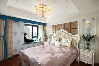 经济型140平米三欧式风格卧室图片
