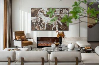 富裕型120平米三现代简约风格客厅装修效果图