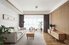 经济型90平米三现代简约风格客厅设计图