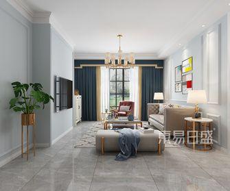 富裕型四美式风格客厅图片