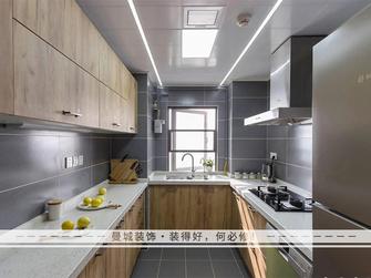富裕型140平米四室两厅北欧风格厨房效果图