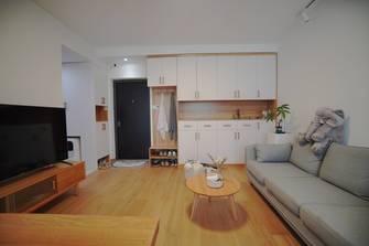 50平米公寓日式风格客厅图