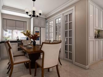 豪华型三室一厅美式风格餐厅装修图片大全