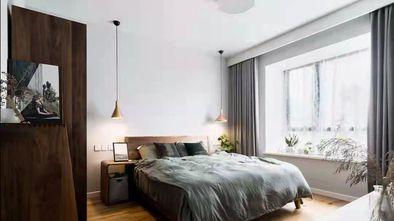 130平米三室两厅美式风格卧室图