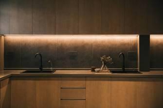 140平米别墅中式风格厨房设计图