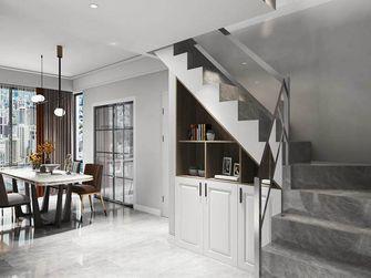 富裕型140平米复式北欧风格楼梯间装修图片大全