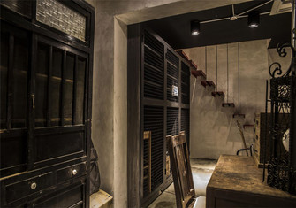 20万以上公寓工业风风格书房装修案例