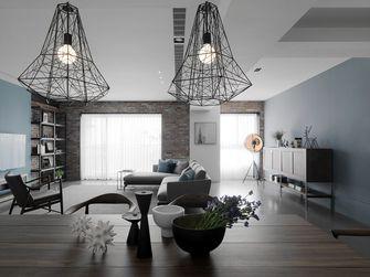 80平米一居室工业风风格客厅装修案例