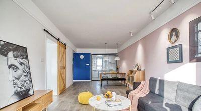 富裕型三室一厅北欧风格客厅图片