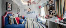 10-15万四室四厅新古典风格青少年房装修案例