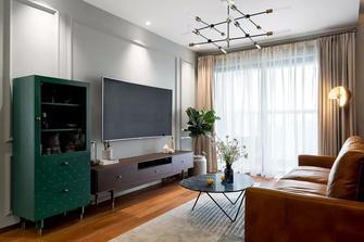 80平米三室两厅欧式风格客厅图片大全