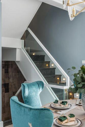豪华型140平米复式轻奢风格楼梯间图片大全