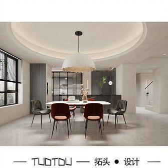 140平米复式混搭风格餐厅图片大全