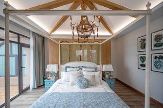 富裕型140平米别墅地中海风格卧室装修案例