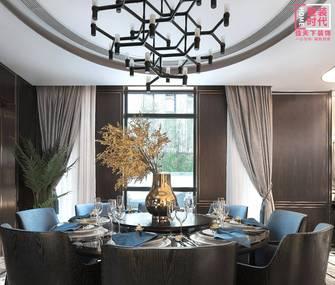 10-15万110平米三室一厅中式风格餐厅设计图