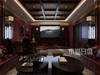 豪华型140平米别墅中式风格影音室装修效果图