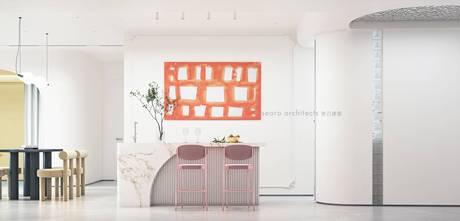豪华型110平米三室两厅法式风格厨房装修效果图