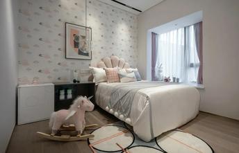 经济型100平米三室一厅现代简约风格卧室图片大全