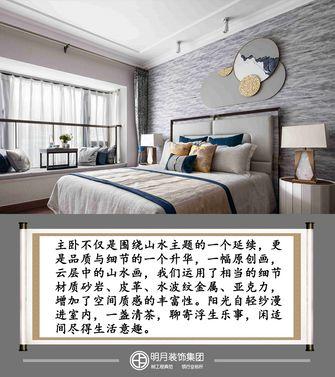 富裕型三室两厅中式风格卧室图片