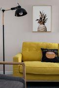 富裕型70平米三室一厅北欧风格客厅图片