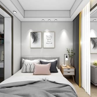 经济型40平米小户型现代简约风格卧室图