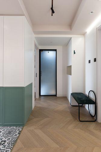 60平米公寓混搭风格玄关图片