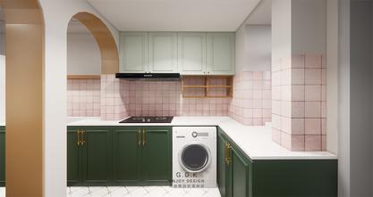 经济型50平米一室一厅混搭风格厨房效果图