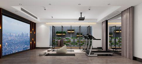 20万以上140平米四室两厅现代简约风格健身房装修案例