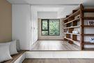 20万以上100平米三室一厅日式风格书房图