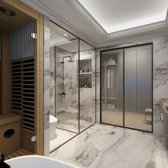 20万以上140平米四室一厅法式风格卫生间图片大全