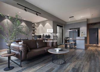 80平米公寓港式风格客厅效果图