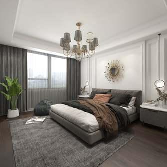 豪华型130平米四室一厅美式风格卧室图