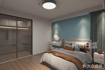 90平米一室两厅现代简约风格卧室装修图片大全