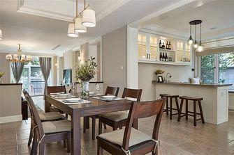 三室三厅美式风格餐厅图片