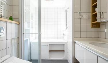经济型120平米三室两厅日式风格卫生间设计图