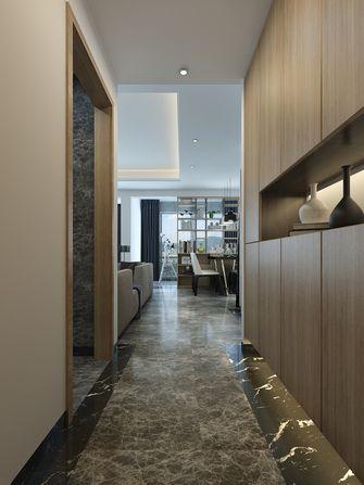 富裕型140平米三室一厅混搭风格玄关图片大全