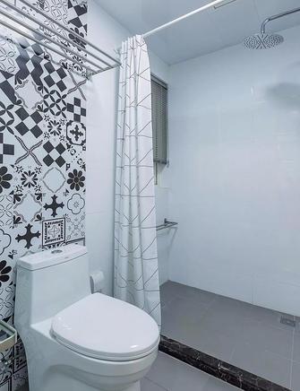 5-10万110平米三室一厅北欧风格卫生间效果图