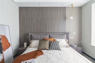 20万以上140平米三室两厅轻奢风格卧室设计图