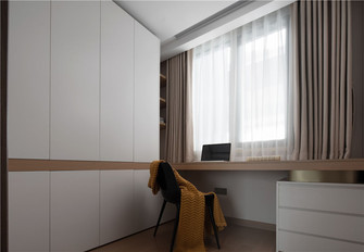 5-10万80平米三室两厅混搭风格书房图片大全